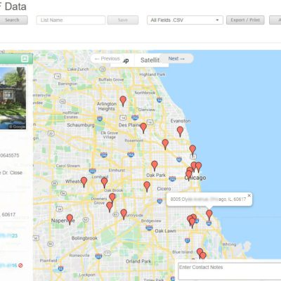 View Expired Listings with Map View